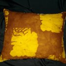 HAND DYED/HANDCRAFTED ACCENT PILLOW