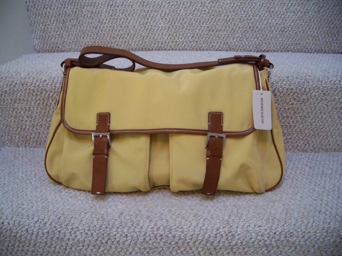 GENUINE BORBONESE DESIGNER HANDBAG/PURSE/ TOTE/ SATCHEL