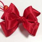 Hanbok Hair Ribbon Elastic Tie Korean Traditional Dress RED