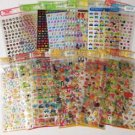 22 Mind Wave Seals Japanese Cute Kawaii Stickers NIP Vintage Epoxy