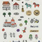 Clear Travel theme stickers
