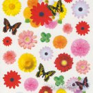 Flower Butterfly Gerbera Photo Sticker 35++