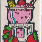 Mello Smello Scratch and Sniff sticker STRAWBERRY SHAKE