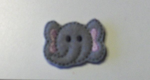 Elephant Felt Clippies