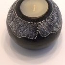 TERRACOTTA CANDLE BALL BLACK 2