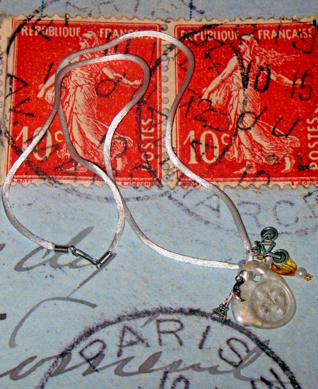 Summer in Paris Pendant Necklace
