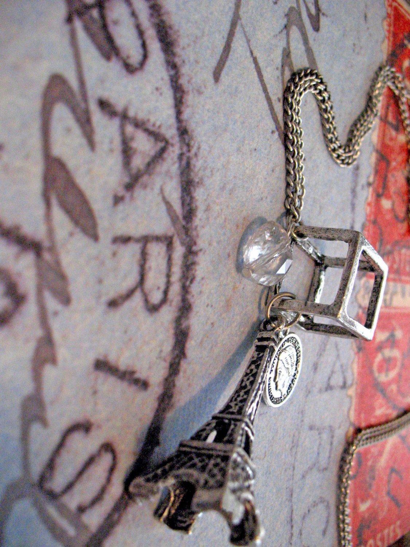 Paris à la Mode: Eiffel Tower Necklace