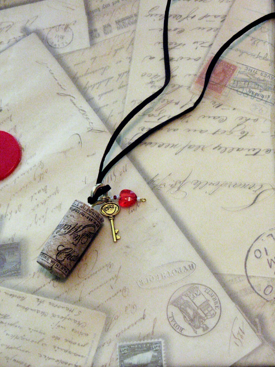 Put a Cork in It: Wine Cork Necklace
