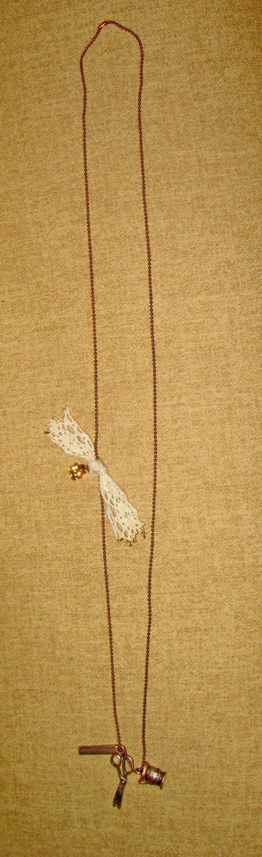 Sew What? Retro Seamstress Necklace