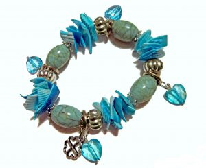 Sea Foam Shell Bracelet �CLEARANCE�