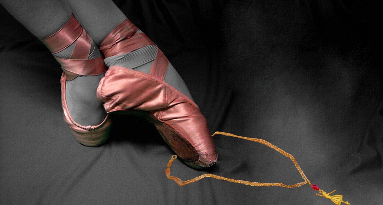 En Pointe Ballerina Necklace Earrings Set �CLEARANCE�