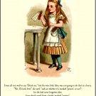 Alice in Wonderland: Drink Me Necklace in Queen Red