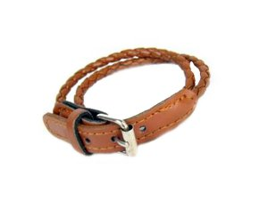 Brown Belt Bracelet �CLEARANCE�