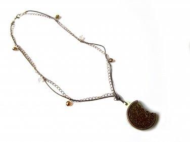 Cookies 'n Cream: Vintage Cookie Pendant Necklace