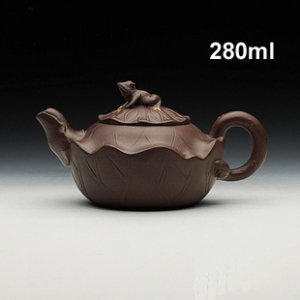 Handmade 280ml Yixing Zisha Unglazed Clay Teapot China Pottery Tea Pot ,  free shipping