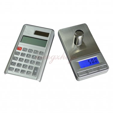 1kg 1000g x 0.1g Pocket Digital Jewelry Gold Silver Coin Scale Balance w Calculator, Free Shippig