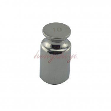 F1 Grade 10G 304 Stainless Steel Calibration Weight for Precision Scale Balance, Free Shipping