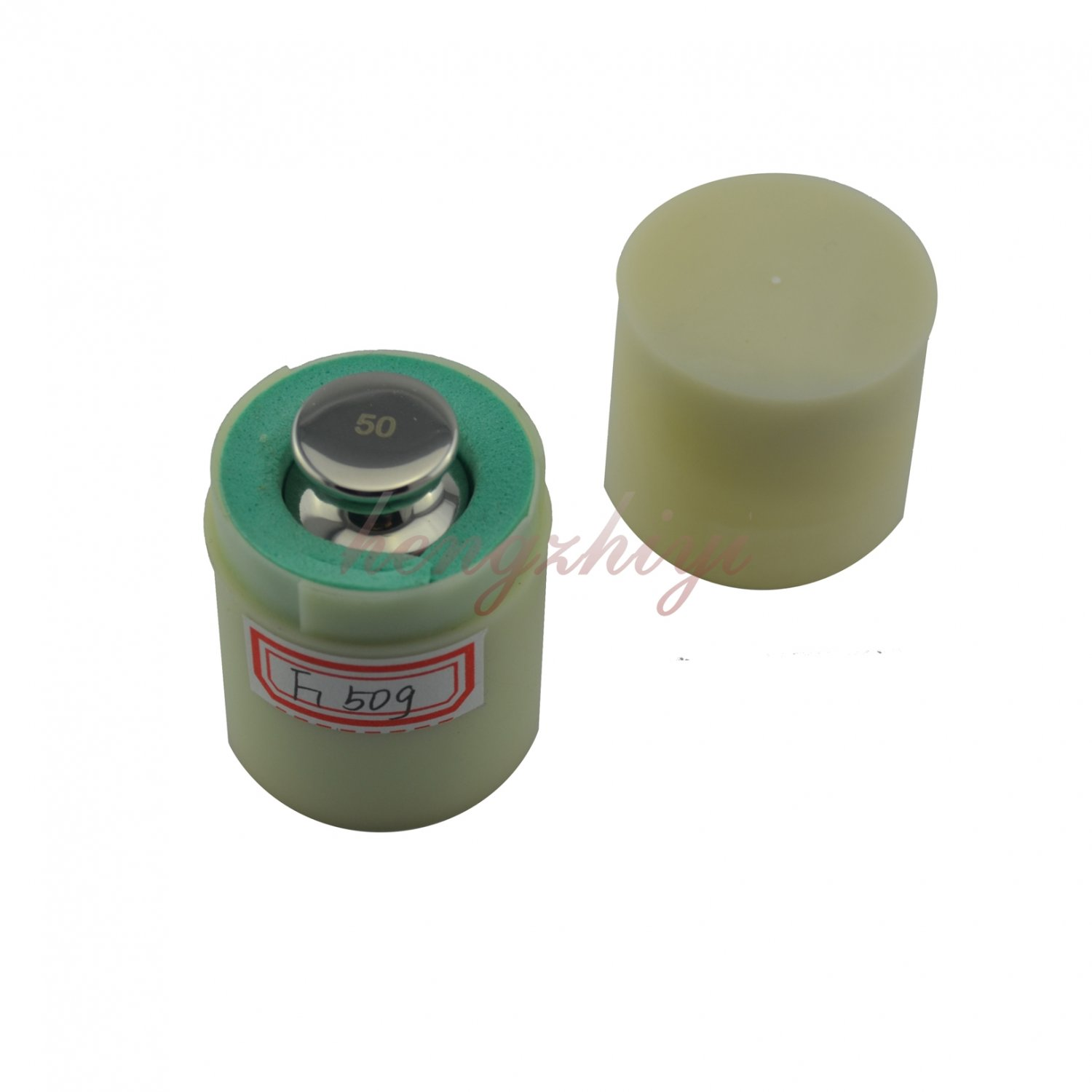 F1 Grade 50G 304 Stainless Steel Calibration Weight w Certificate Balance Weight, Free Shipping