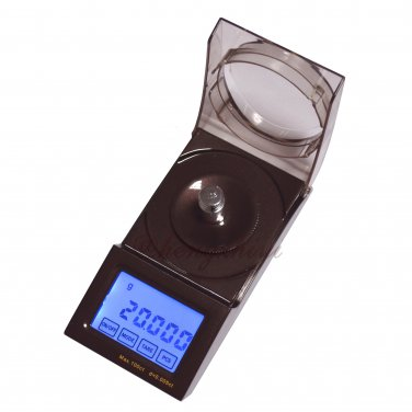 High Precision Jewelry Diamond Carat Scale Balance 20g x 0.001g w Big LCD + Counting, Free Shipping