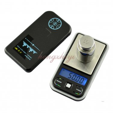 200g x 0.01g Mini Digital Electronic Jewelry Pocket Carat Scale Weighing Balance, Free Shipping