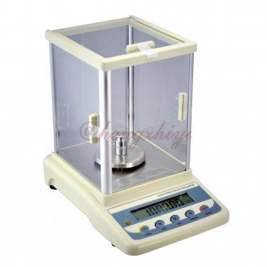 1000carat x 0.005carat Precision Diamond Gem Scale Balance w Shield + Germany Sensor + Weights