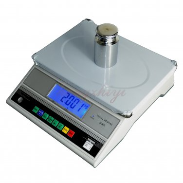 30kg x 1g Precision Digital Bench Scale w Counting, Electronic Table Top Balance, Free Shipping