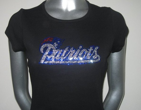 Patriots Rhinestone Tshirt