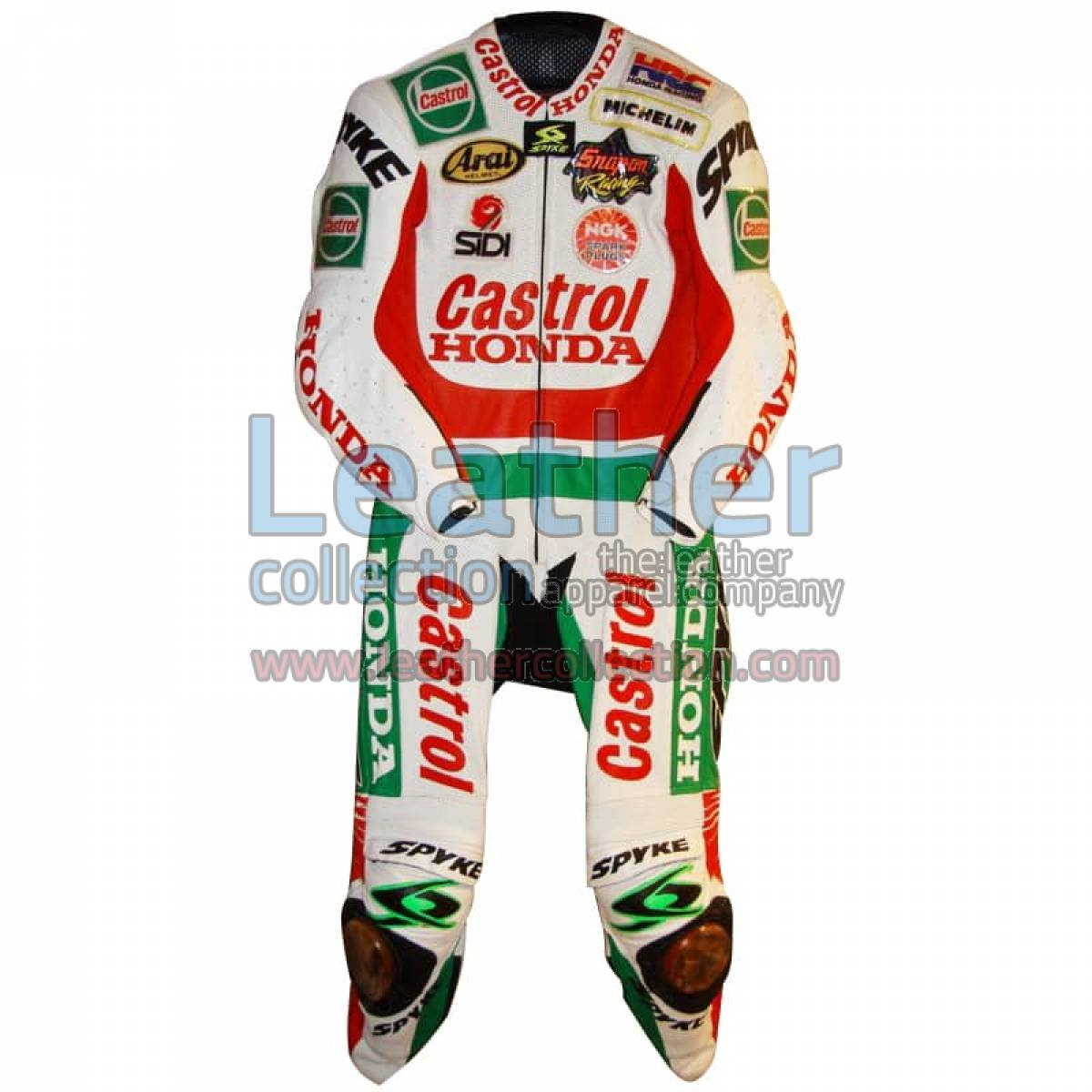 Aaron Slight 1997 WSBK Castrol Honda Leathers