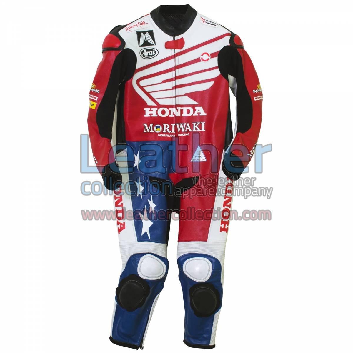 American Honda Moto2 Moriwaki MD600 Leathers