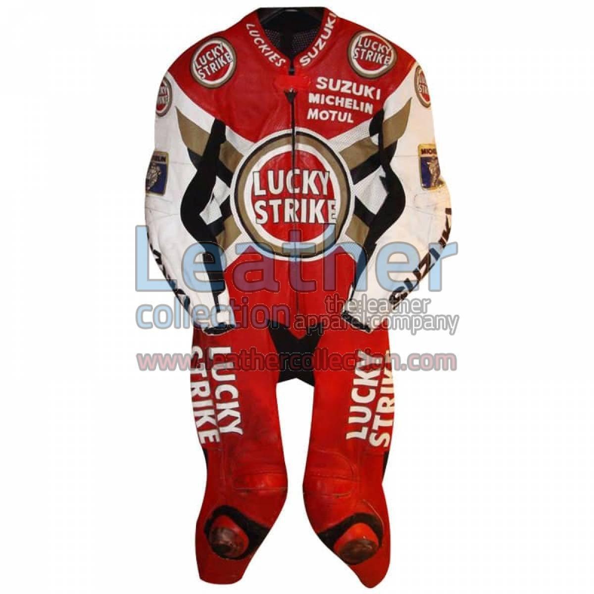 Anthony Gobert Suzuki Lucky Strike 1997 MotoGP Leathers