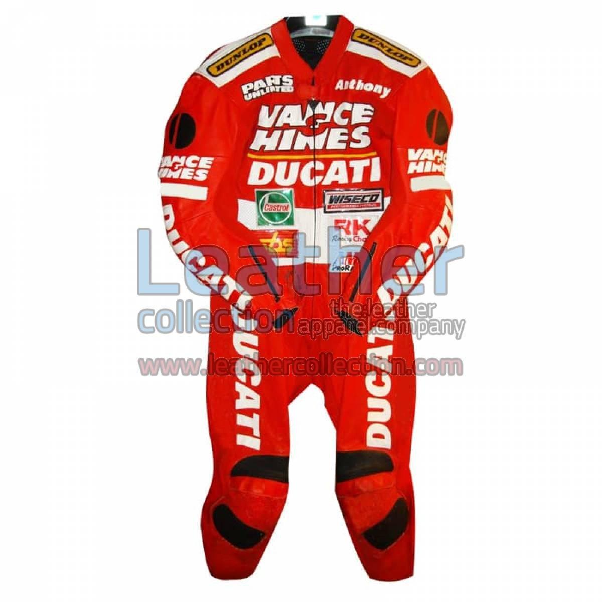 Anthony Gobert Vance & Hines Ducati Leathers 1998 - 1999 AMA