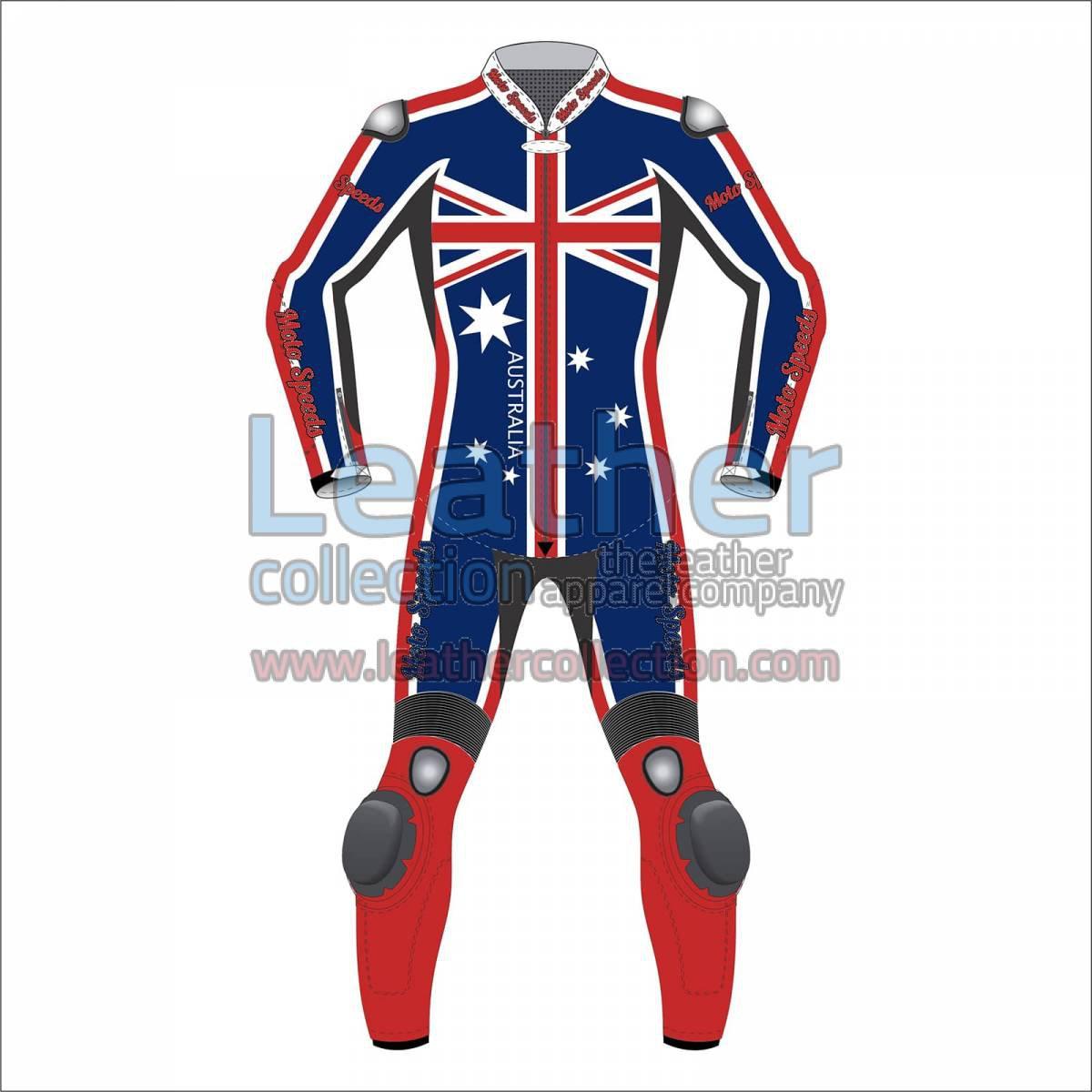Australian Flag Moto Racing Suit