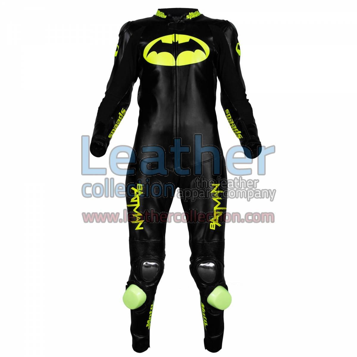 Batman Motorcycle Racing Leathers