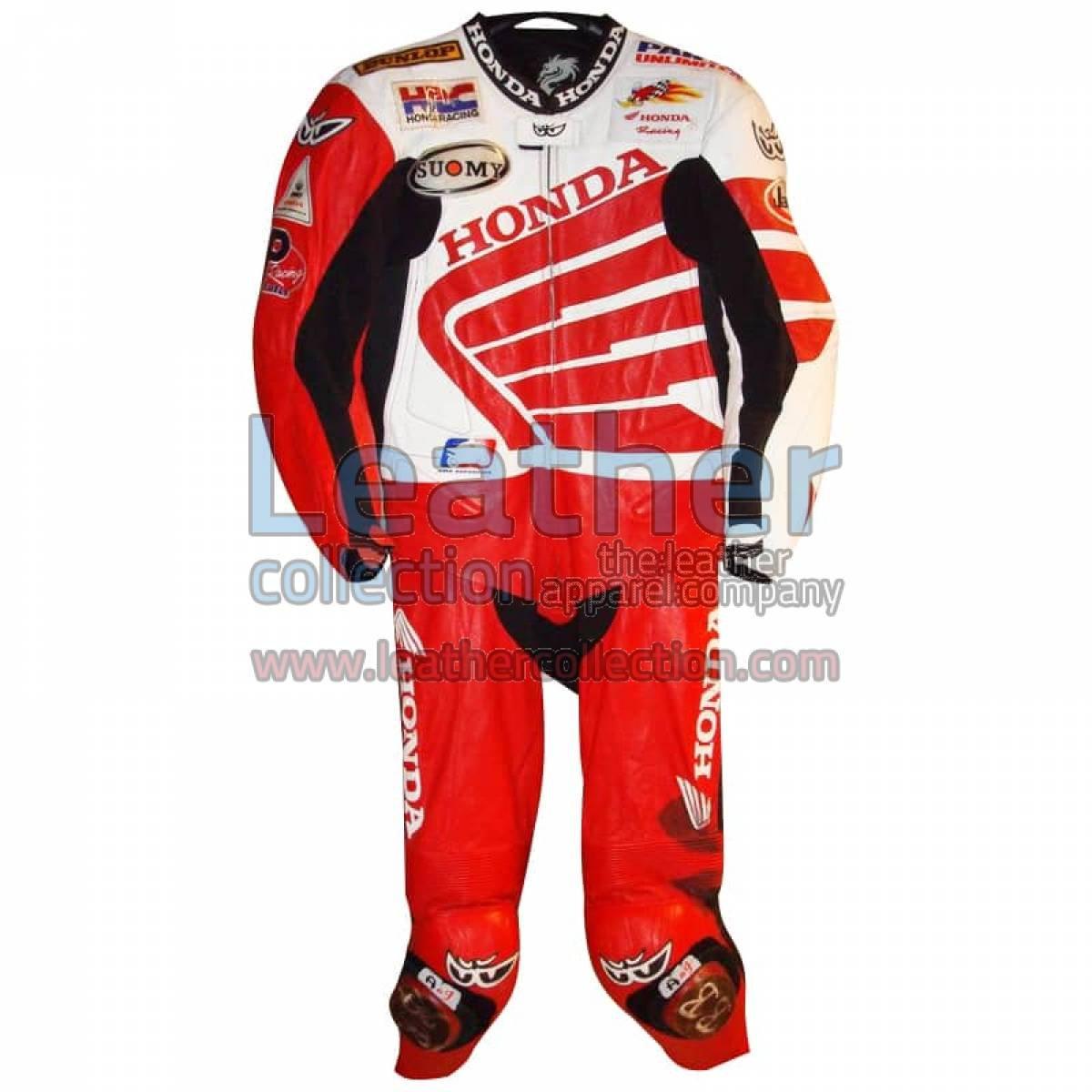 Ben Bostrom American Honda 2004 AMA Leathers