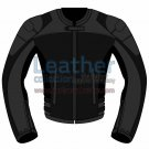 Bi Color Motorbike Leather Jacket For Women