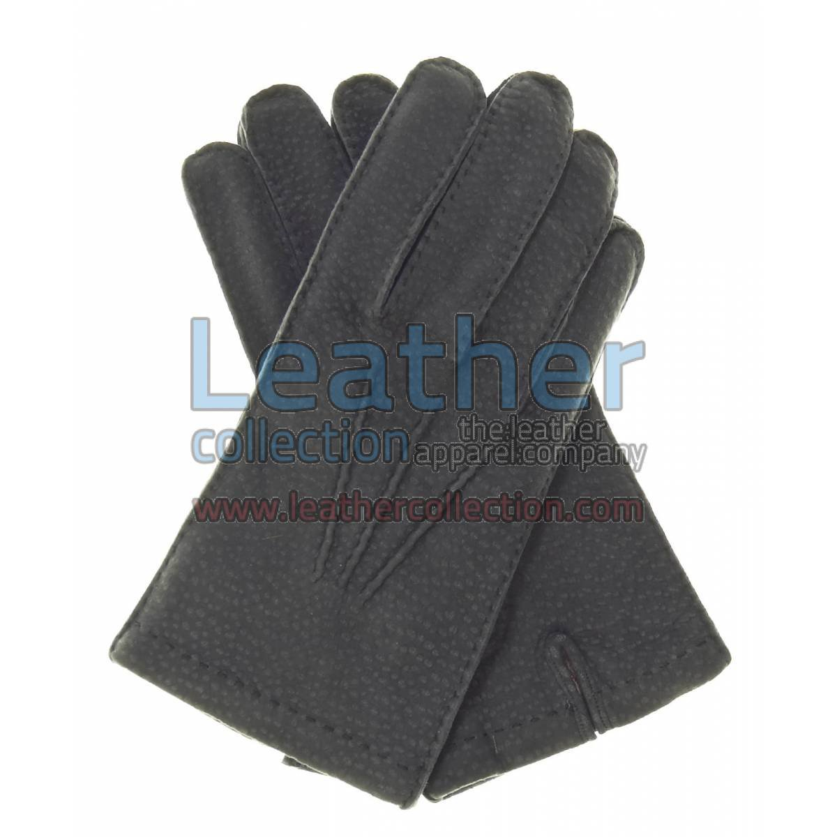 Black Dress Leather Gloves