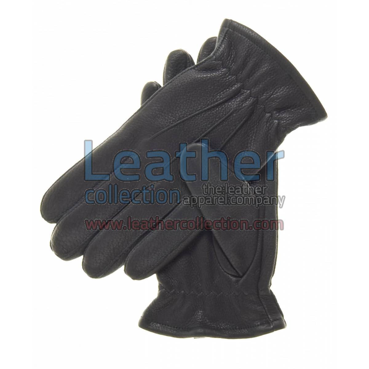 Black Winter Thinsulate Lined Gloves