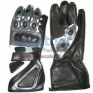 Bravo Grey Motorbike Race Gloves