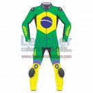 Brazil Flag Moto Race Suit
