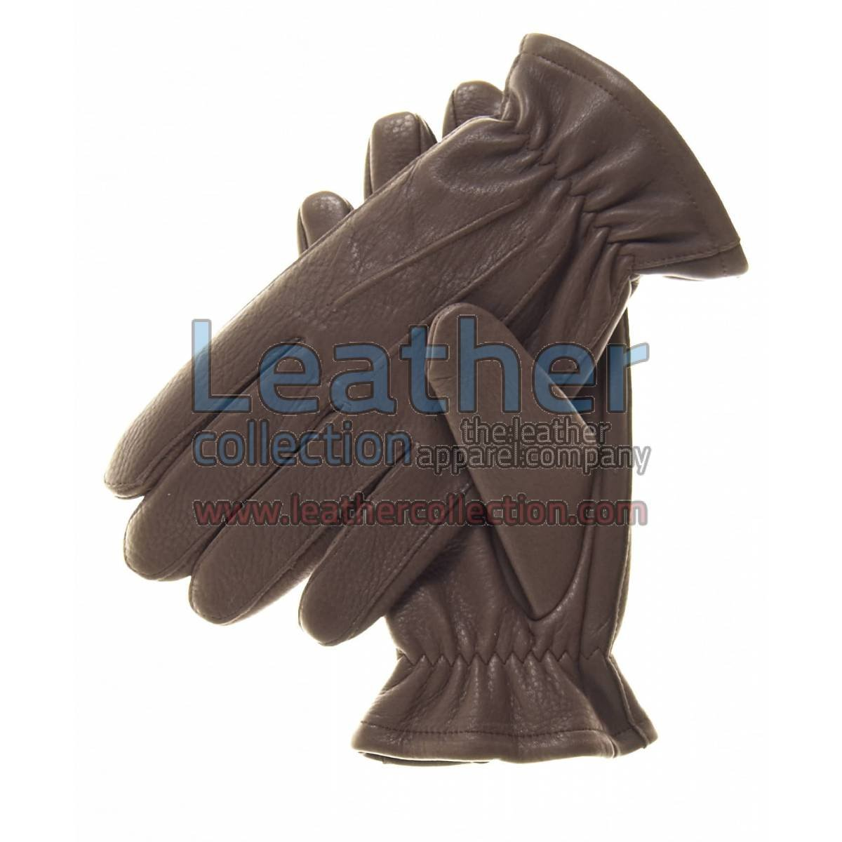 Brown Winter Thinsulate Lined Gloves