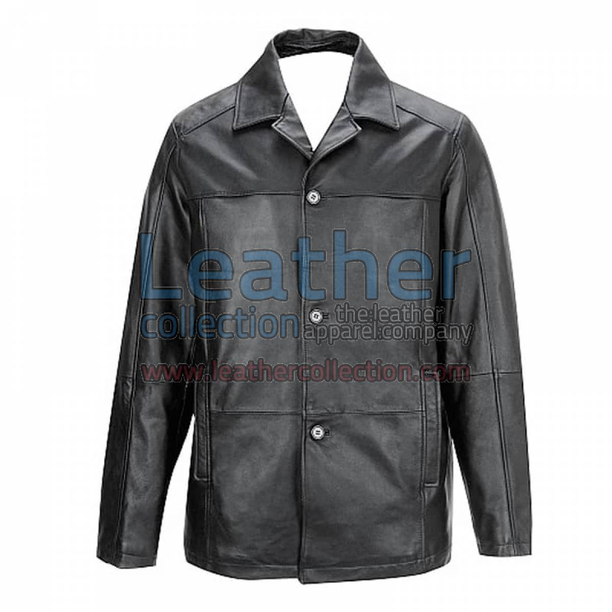 Buttoned Front Lambskin Thinsulate Jacket