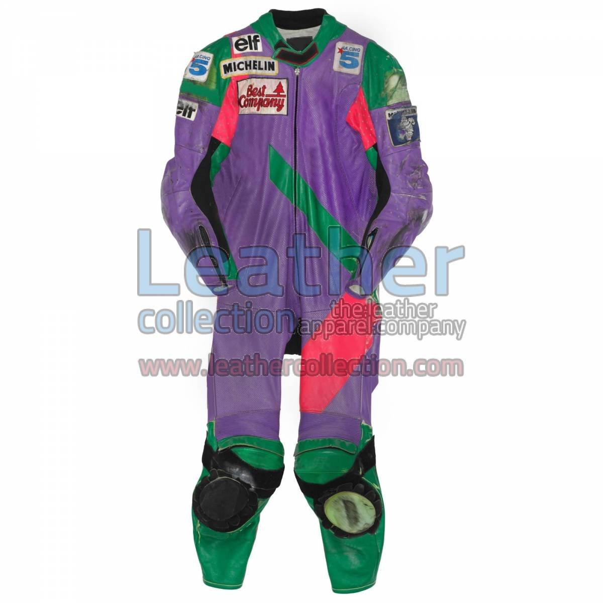 Carl Fogarty Honda WSBK 1990 Racing Suit
