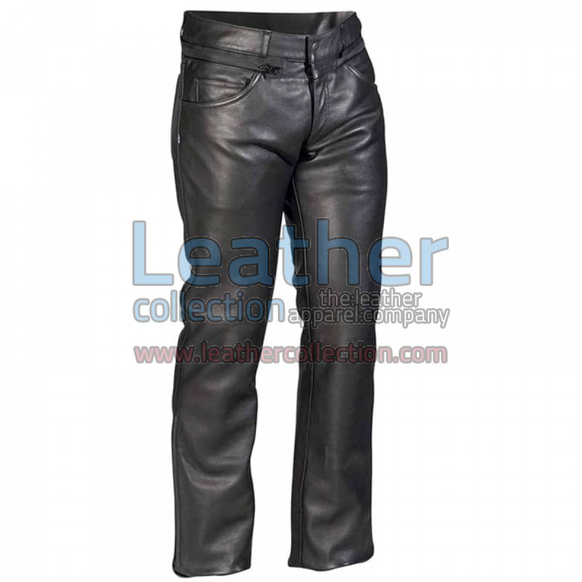 Classic Leather Pants