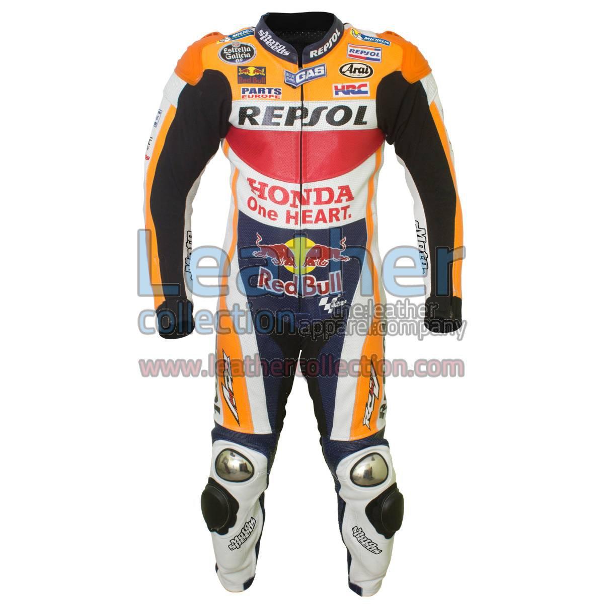 Dani Pedrosa HRC Honda Repsol MotoGP 2016 Suit