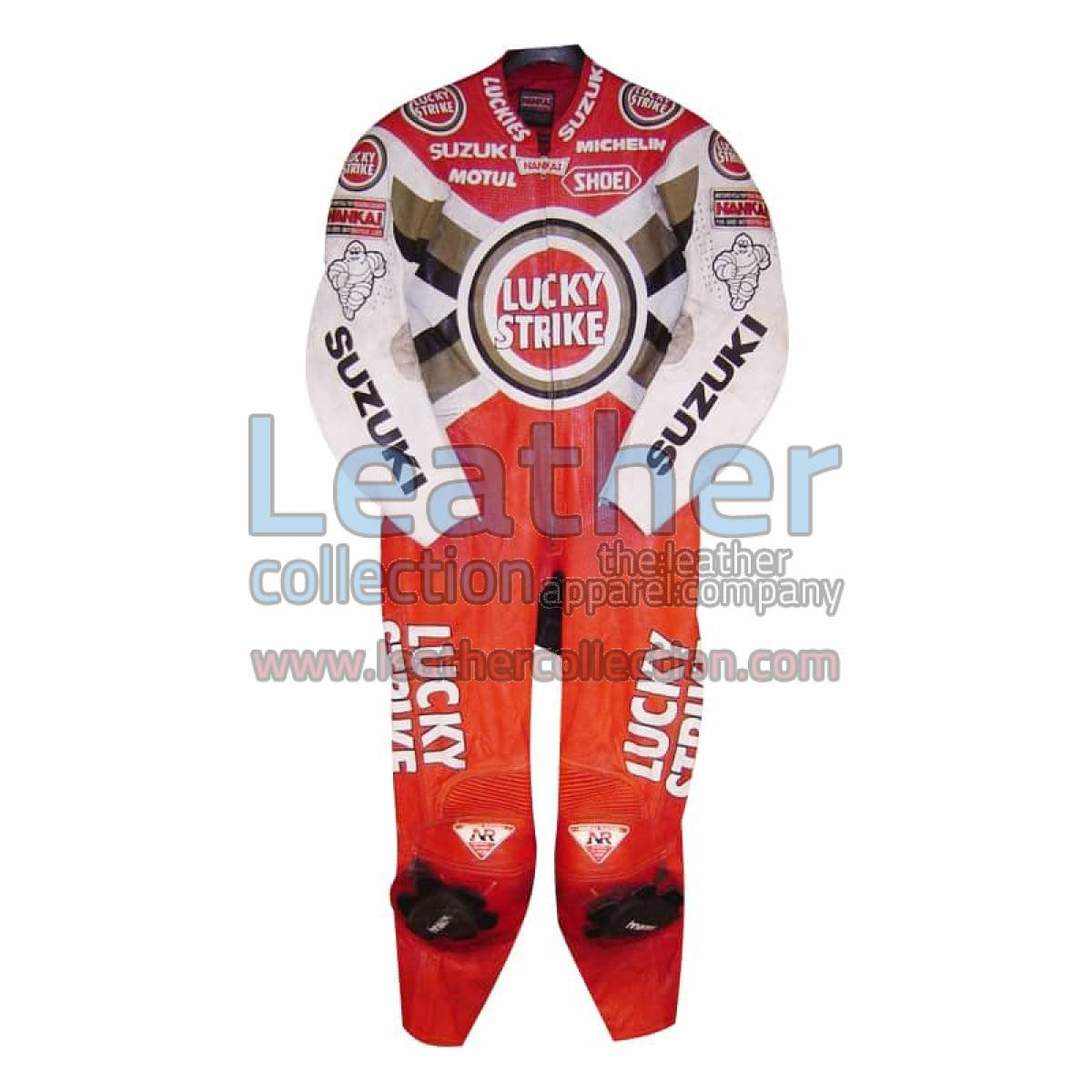 Daryl Beattie Suzuki Lucky Strike Leathers 1995 MotoGP