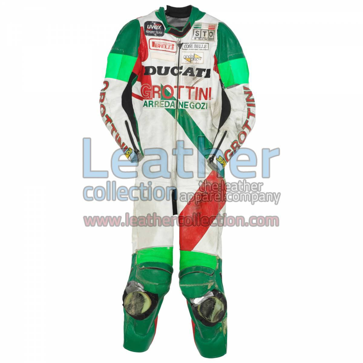 Davide Tardozzi Ducati ESB 1990 Race Suit