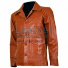 Fight Club Original Tan Leather Jacket