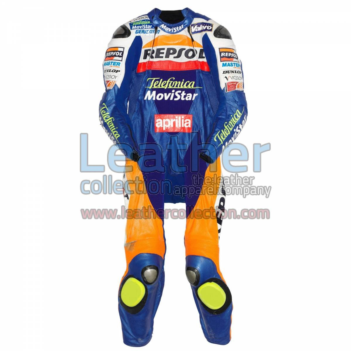 Fonsi Nieto Aprilia GP 2003 Leather Suit