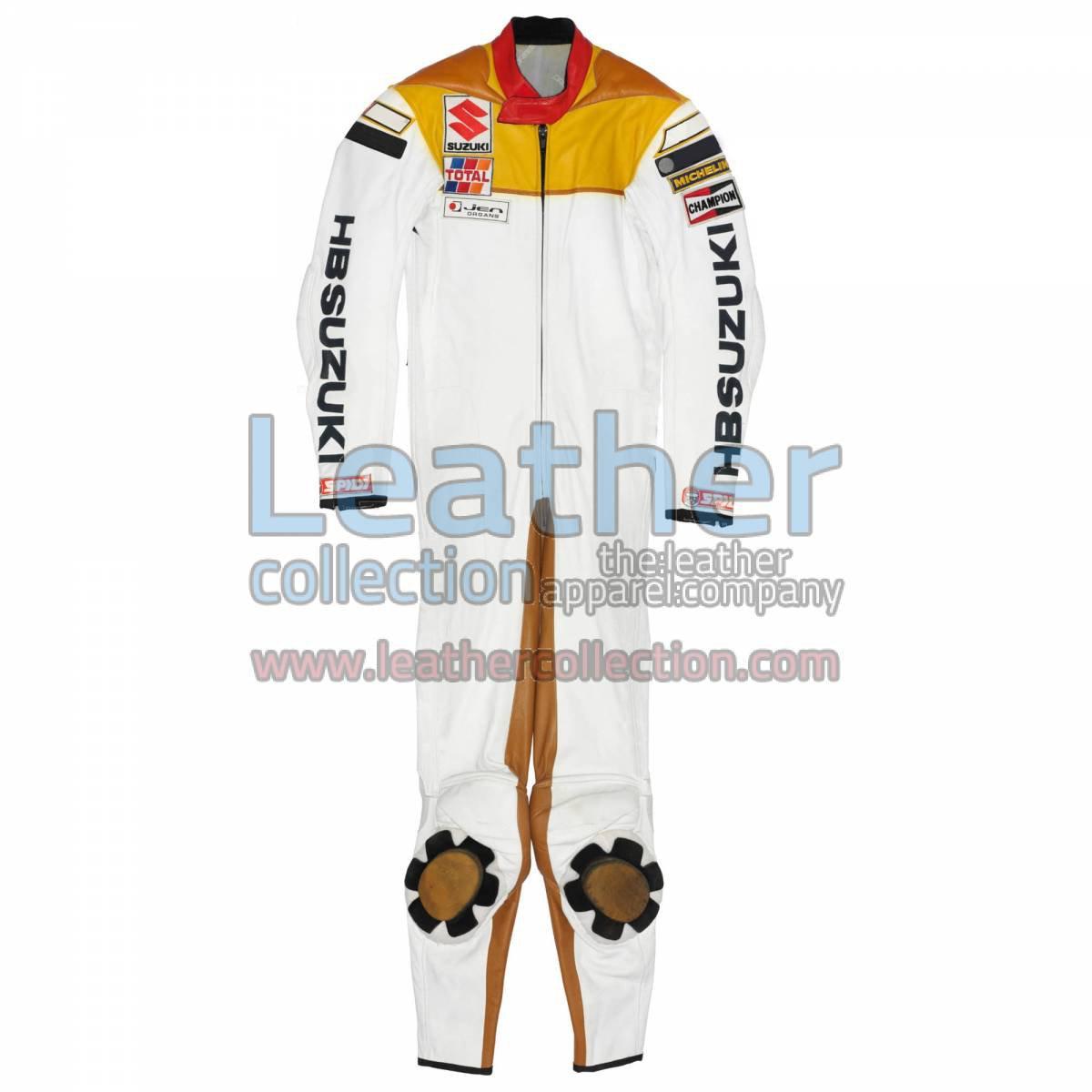 Franco Uncini Suzuki GP 1982 Leather Suit