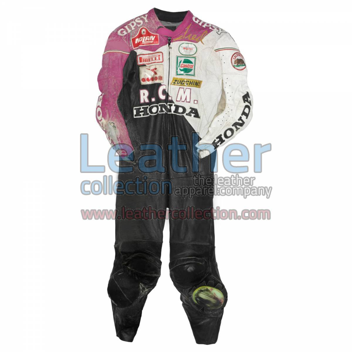 Fred Merkel Honda WSBK 1989 Leather Suit